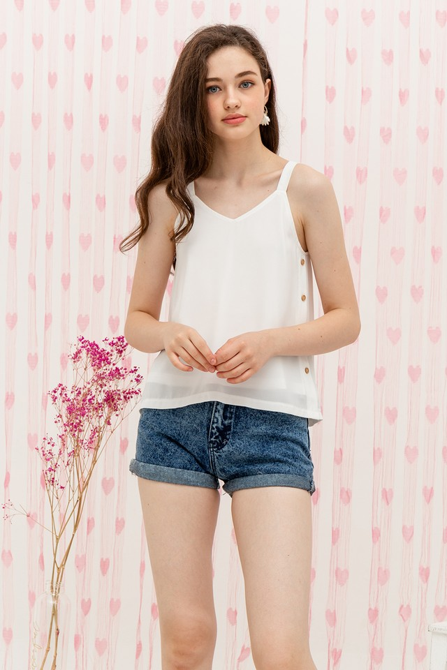 Zada Top White