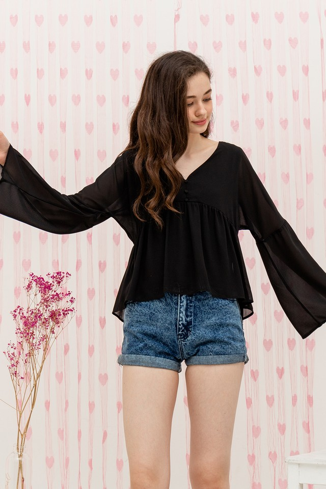 Bellatrix Top Black