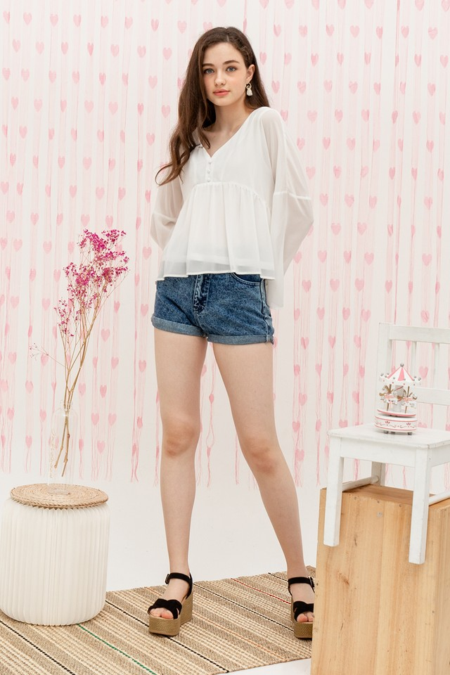 Bellatrix Top White