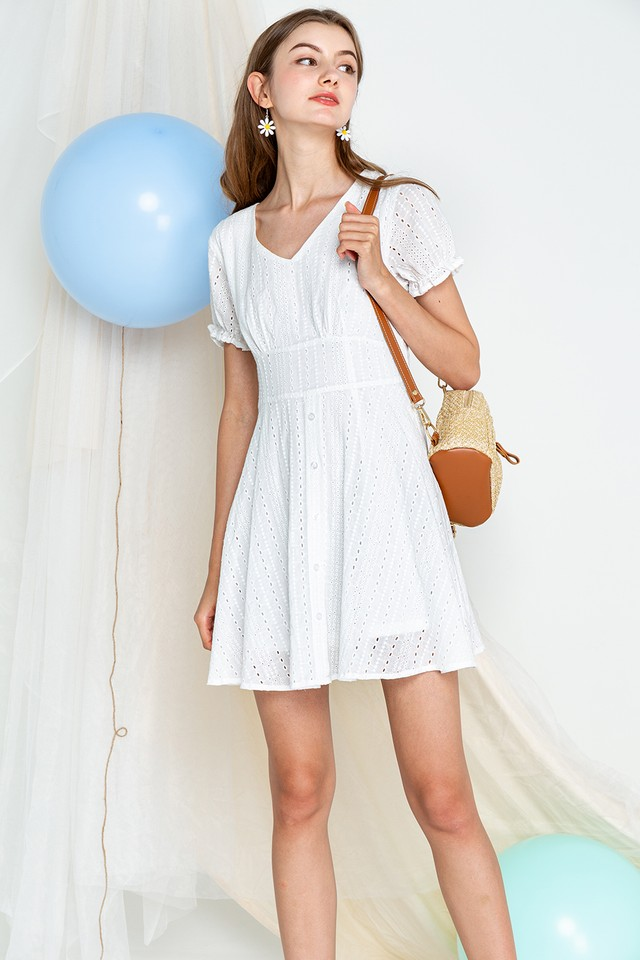 Kendra Eyelet Dress