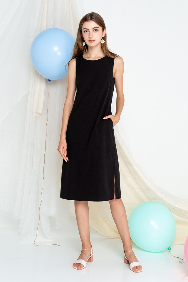 Eimear Dress Black