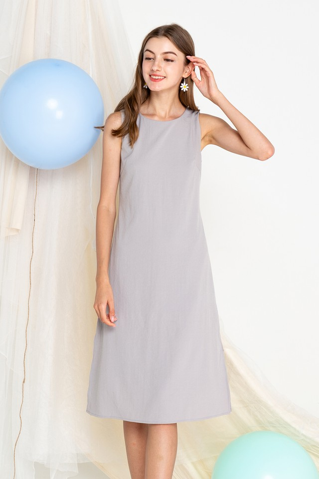 Eimear Dress Grey