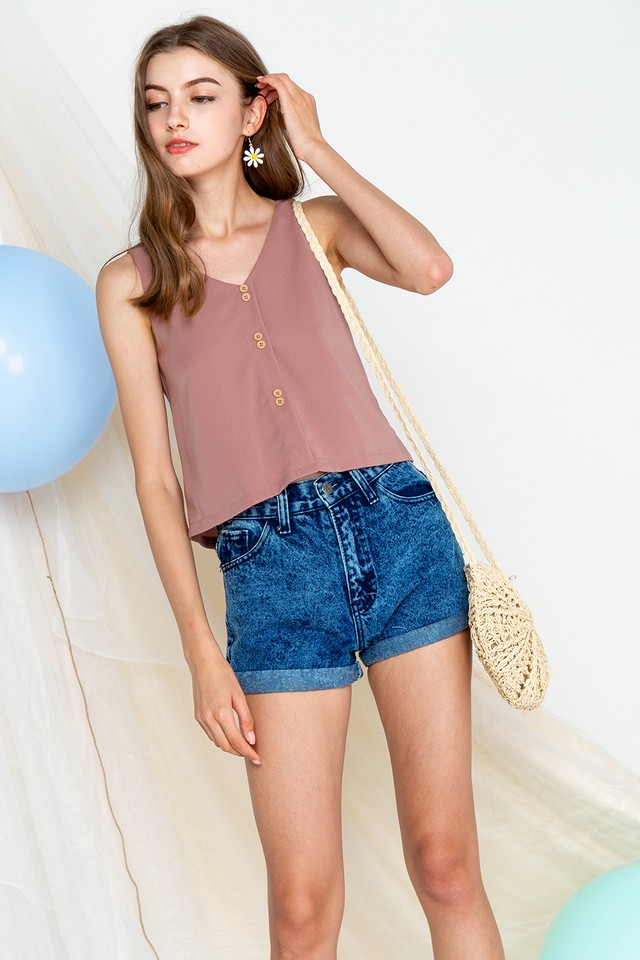 Hilda Top Mauve
