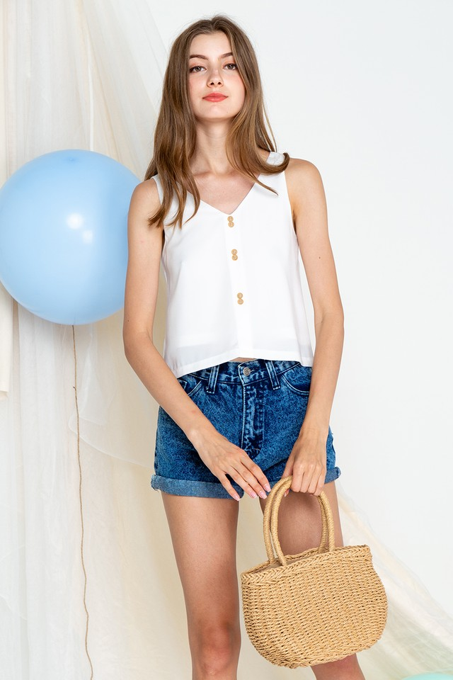 Hilda Top White