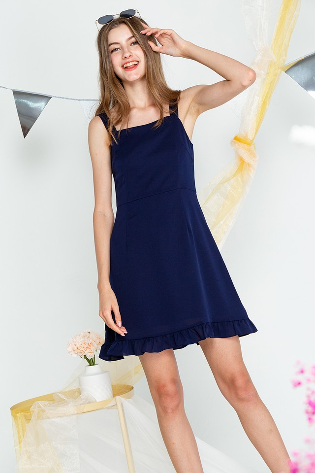 Vanessa Dress Navy