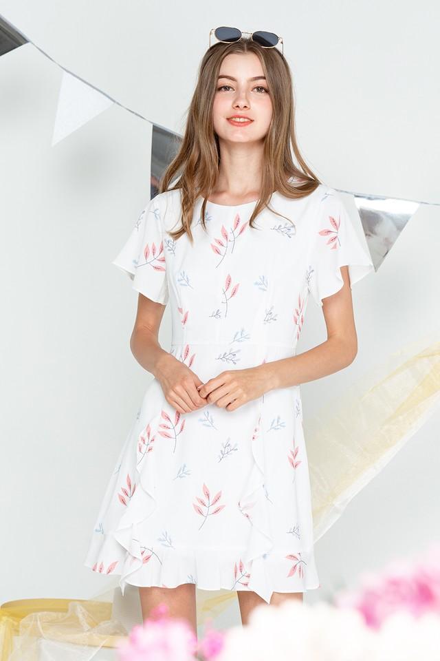 Harlow Dress Pastel Petals