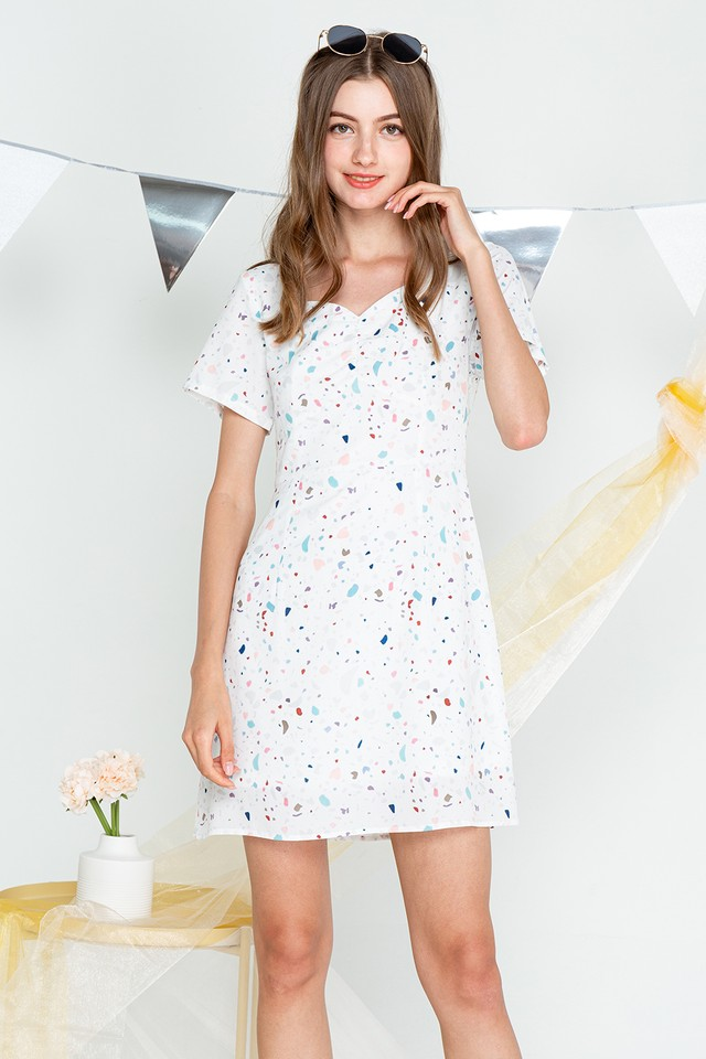Anaise Dress Terrazzo