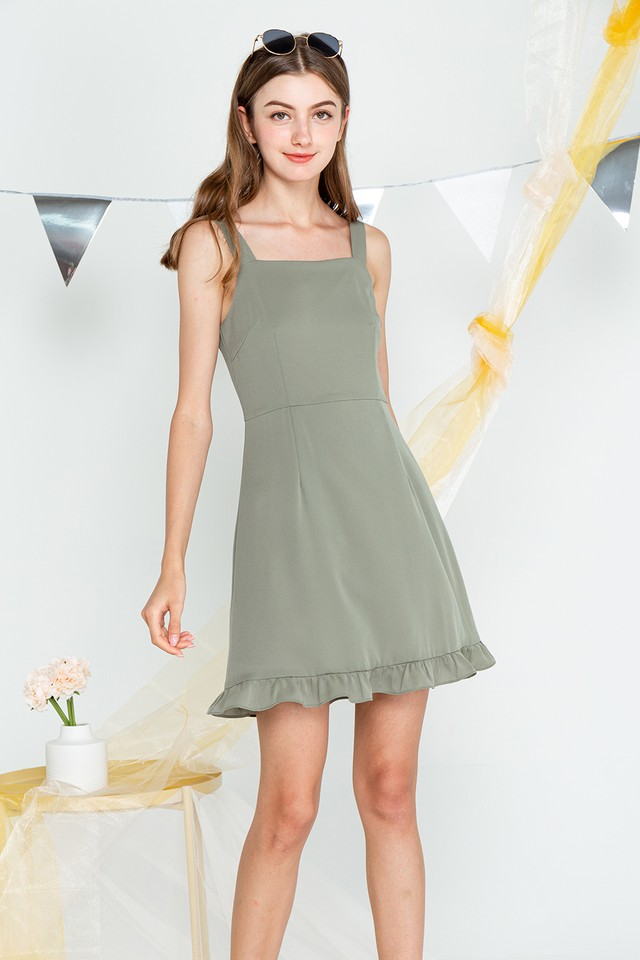 Vanessa Dress Sage