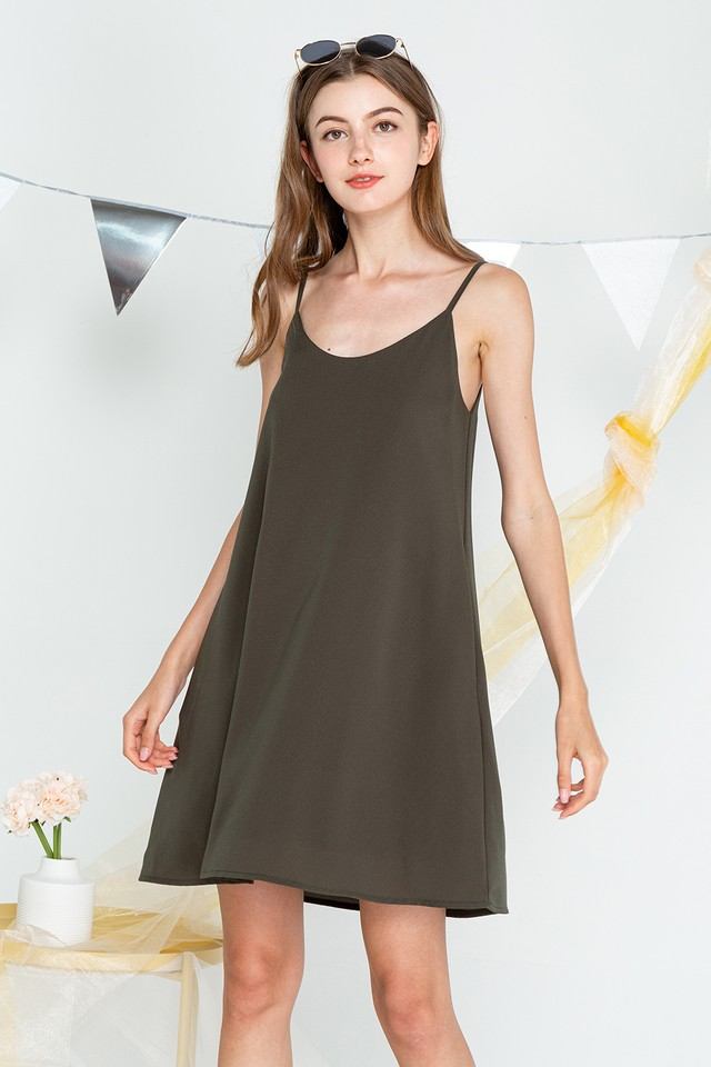 Mabel Dress Army