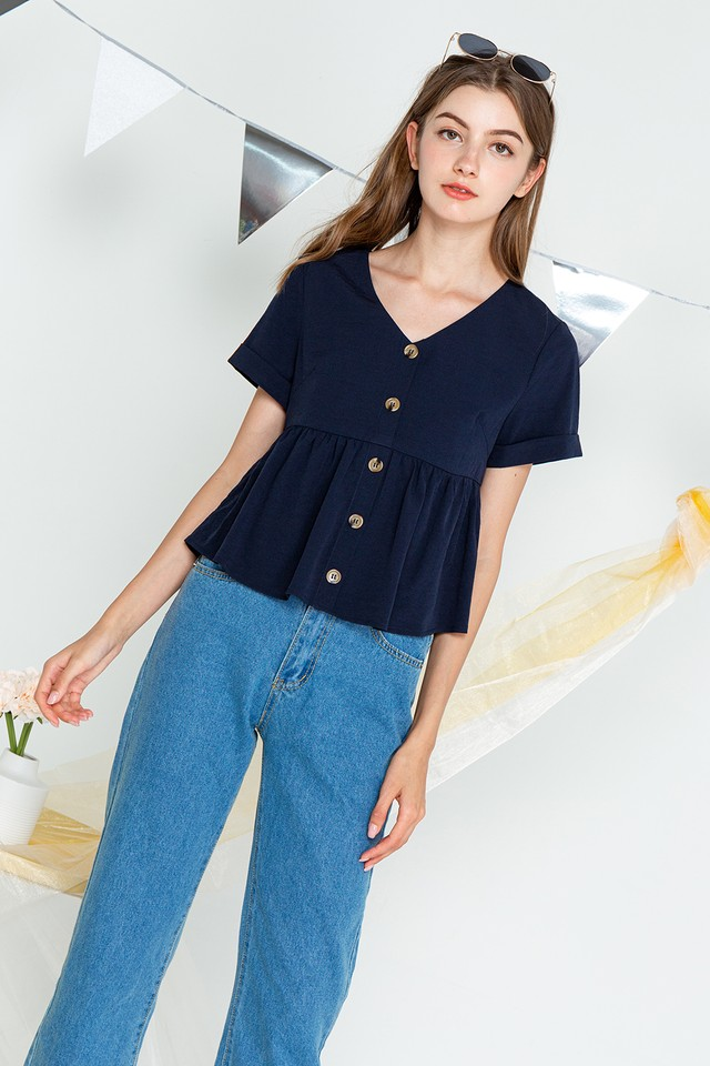 Lonnie Top Navy