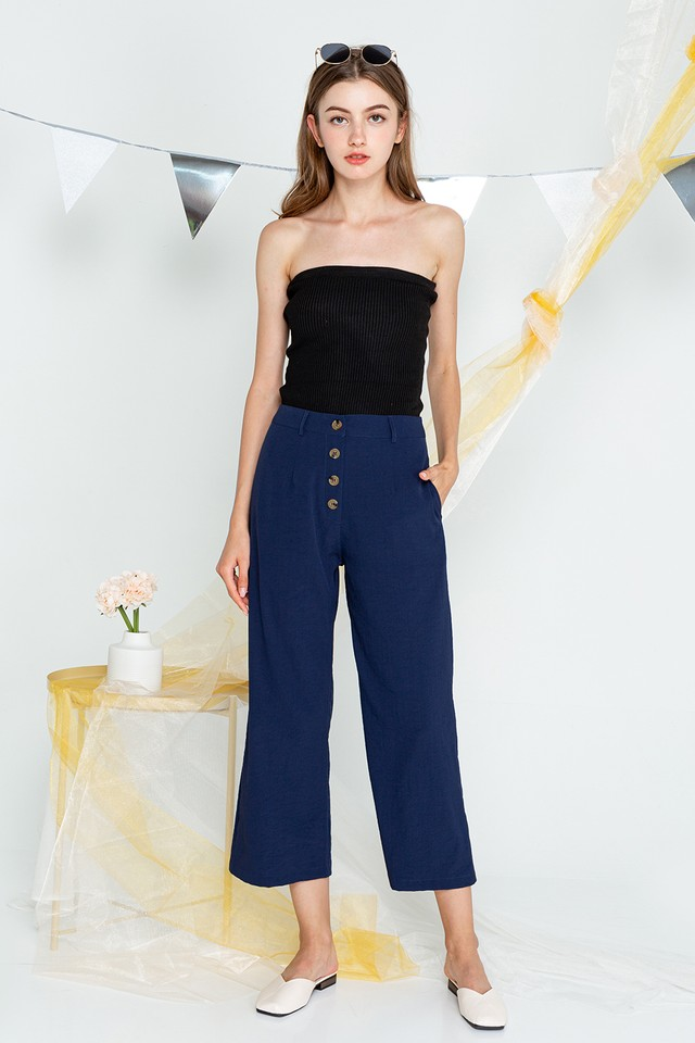 Geri Culottes Denim Blue
