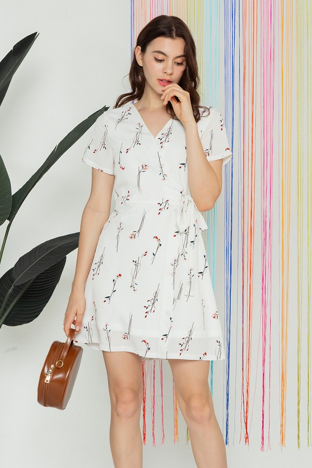 Colton Dress White Floral