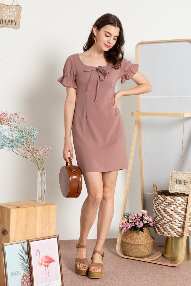 Xarissa Dress Dusty Pink