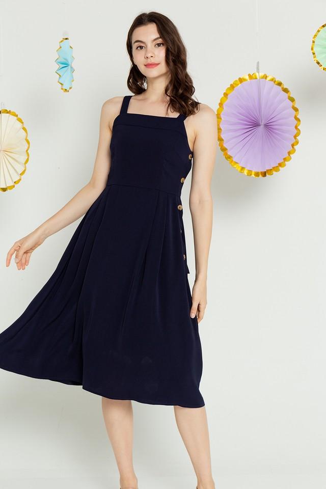 Zola Dress Navy