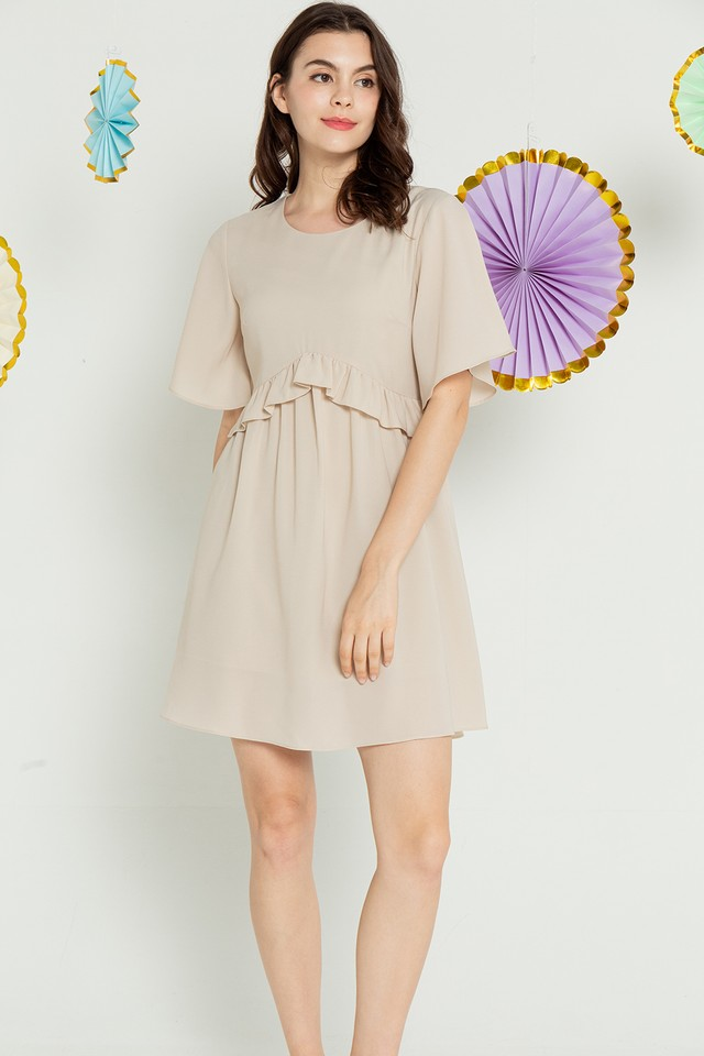 Knox Dress Khaki