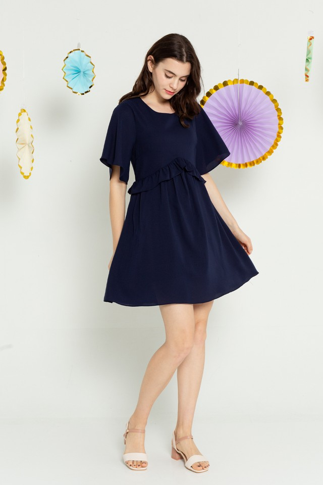 Knox Dress Navy