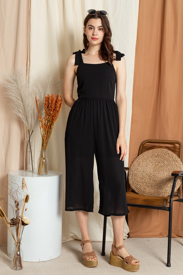 Leah Jumpsuit Black