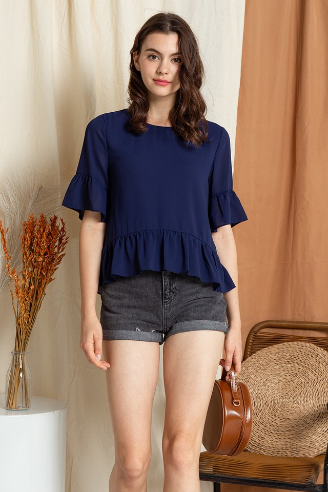 Koddie Top Navy