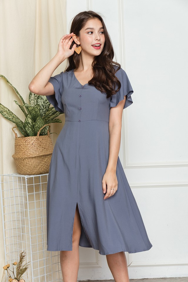 Darryn Dress Grey