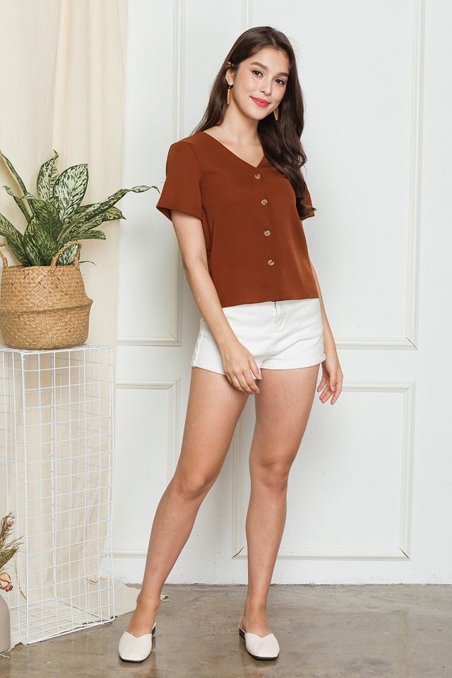Keira Top Rust