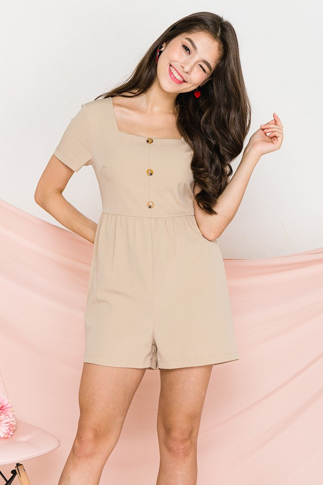 Janessa Playsuit Sand
