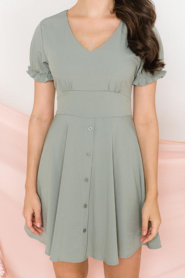 Corina Dress Sage