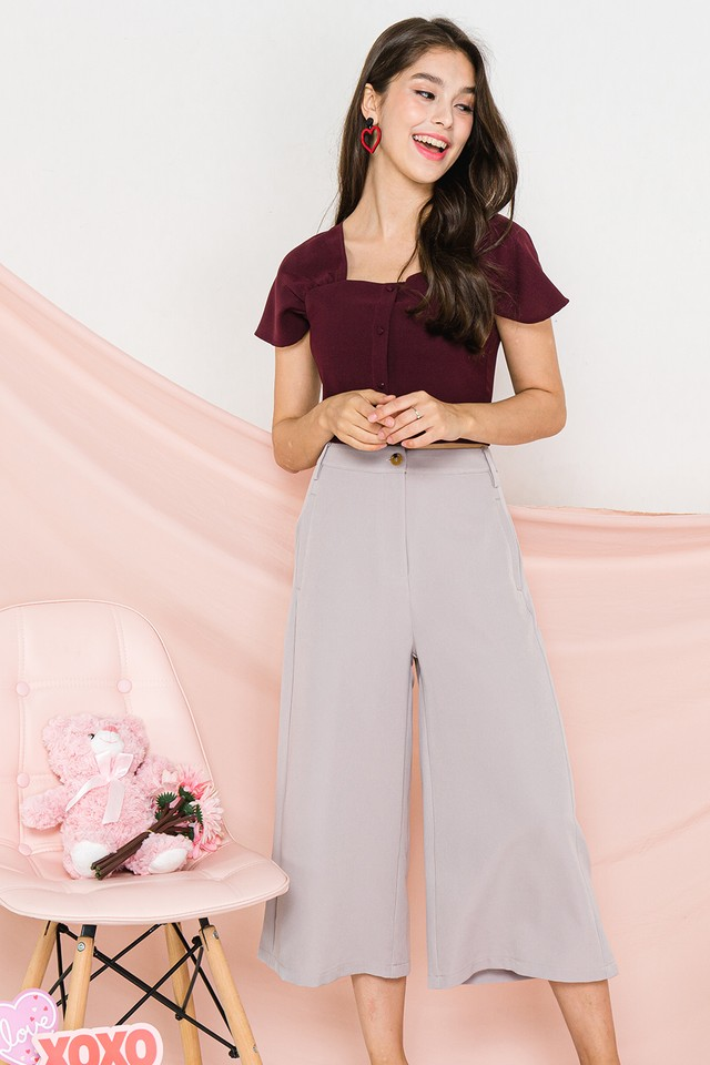 Lizbeth Culottes Grey
