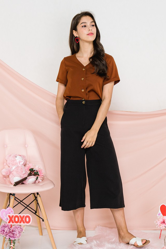 Lizbeth Culottes Black
