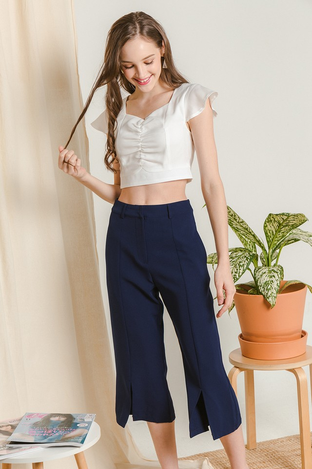Lucia Culottes Navy