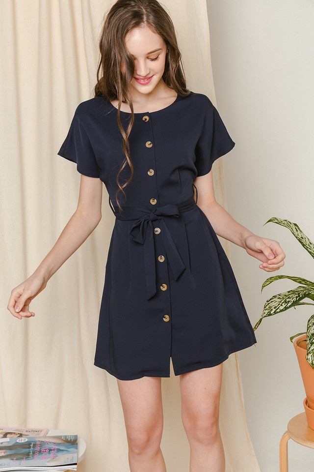 Iorra Dress Navy