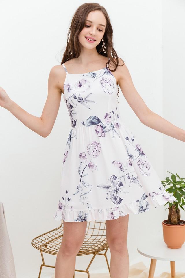 Astra Dress Pastel Floral