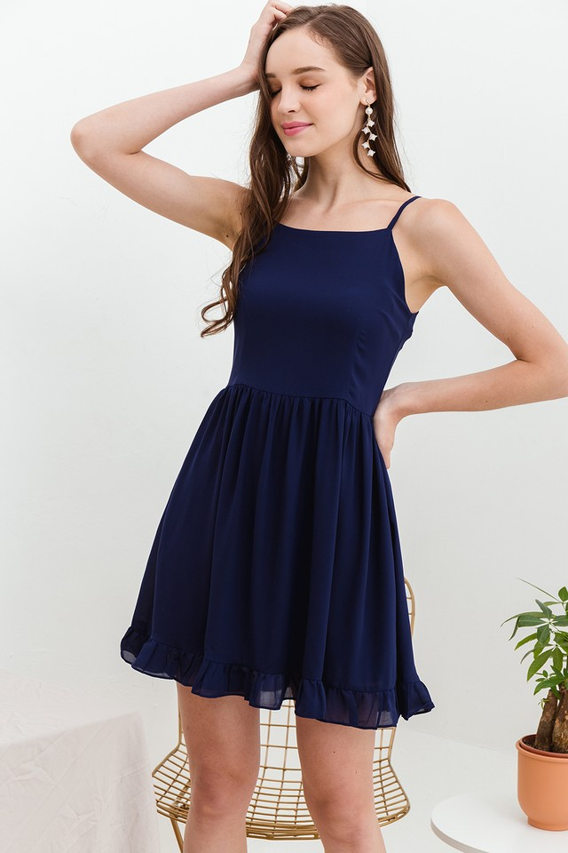 Astra Dress Navy