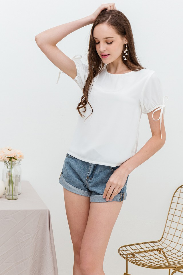 Sheila Top White