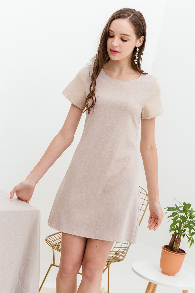 Harriet Dress Sand