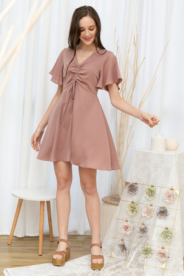 Henri Dress Dusty Pink