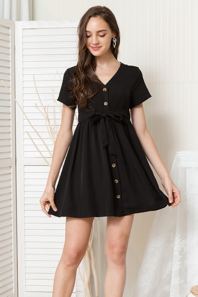 Delanie Dress Black