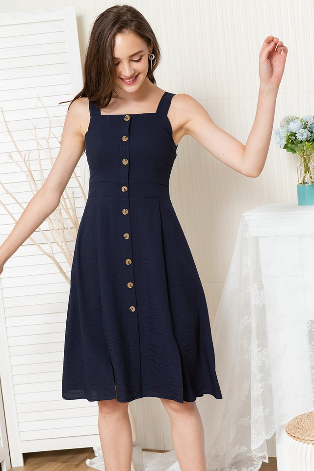 Dara Dress Navy