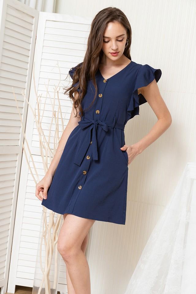 Miran Dress Navy