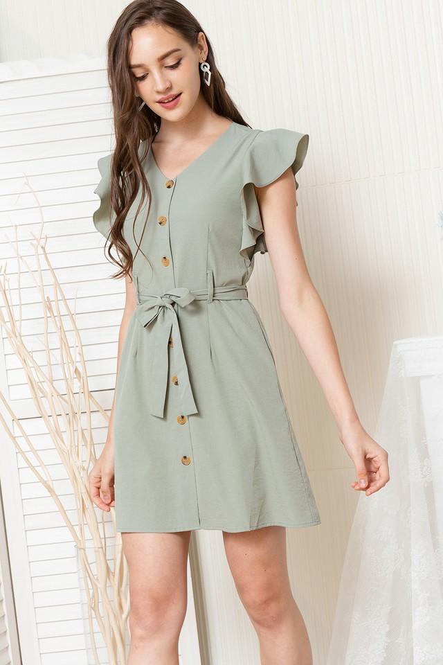 Miran Dress Sage