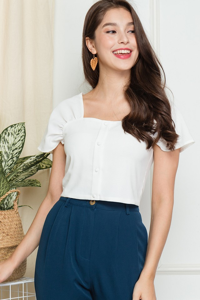 Newton Top White