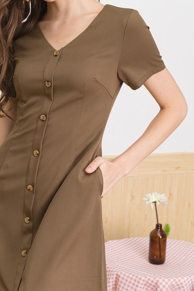 Dalona Dress Olive