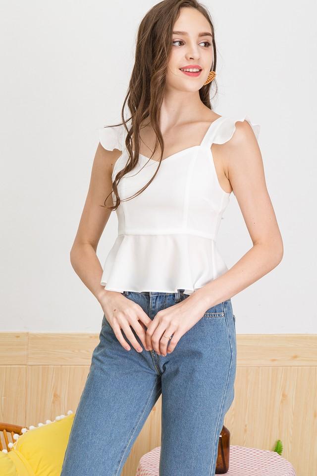 Brenna Top White