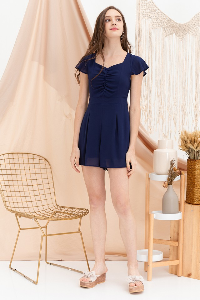 Payton Playsuit Navy