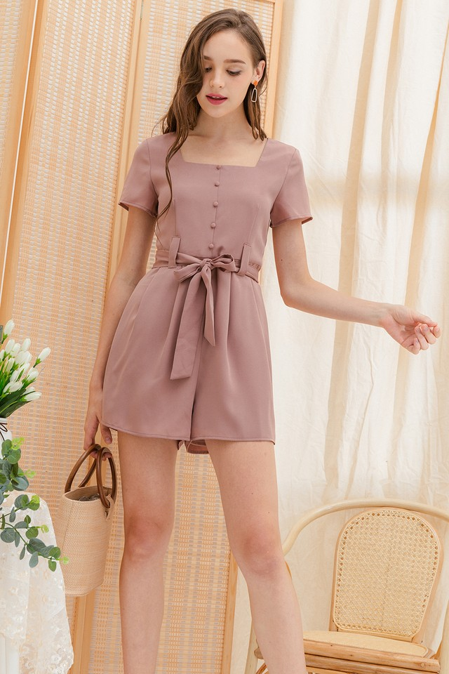 Farley Playsuit Pink