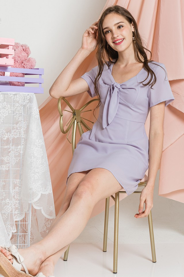 Clemence Dress Lilac