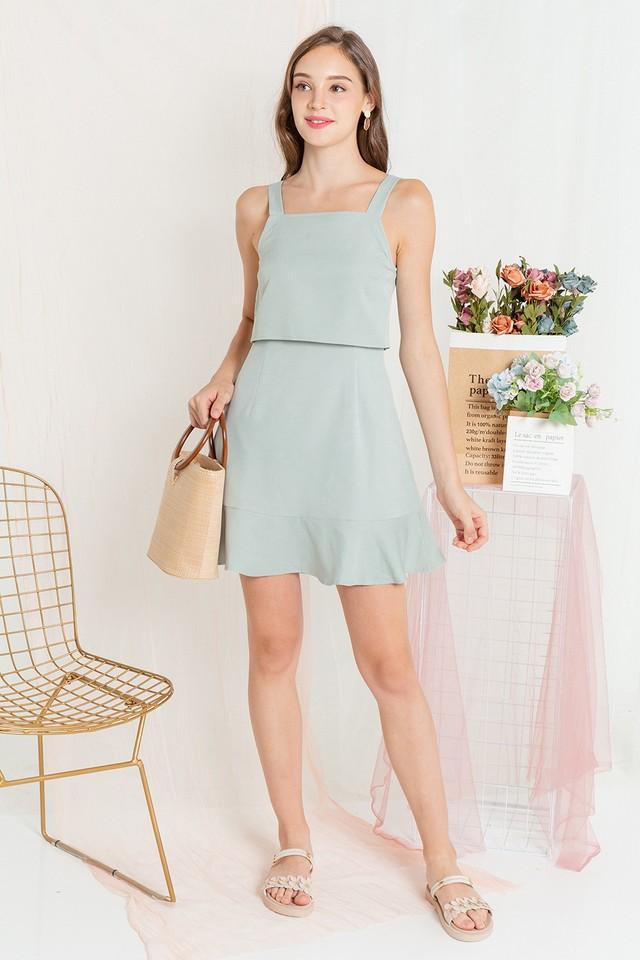 Sendi Dress Apple Green