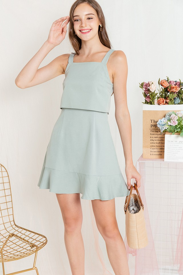 Sendi Dress Apple Green