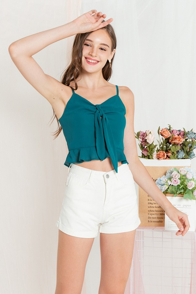 Katerina Top Emerald