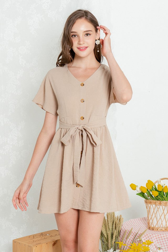 Loyla Dress Sand