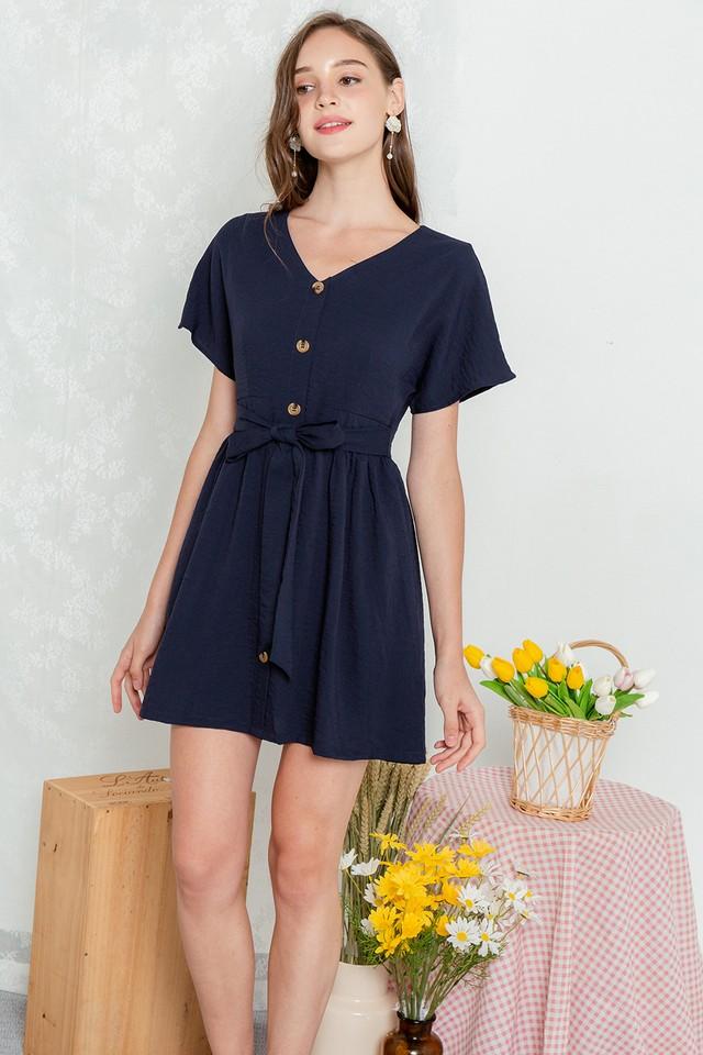 Loyla Dress Navy